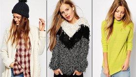 Hřejivé svetry: Vyberete si klasiku, nebo dáte přednost extravaganci?
