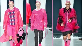 Návrháři se zbláznili: Pánové, oblékněte se do růžové!
