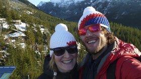 Čeští novomanželé chtějí uběhnout 160 kilometrů! Jsou to jejich líbánky!