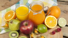 Nenechte se ošidit! Víte, jaký je rozdíl mezi 100% džusem a nektarem?