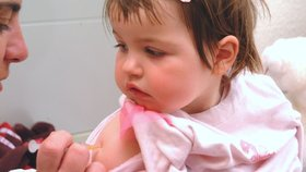 Roční holčičku zabil pneumokok: Nebyla očkovaná