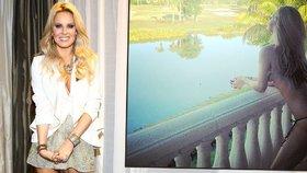 Velikonoce nahoře bez: Simona Krainová si užívá svátky na slunné Floridě