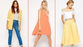 Nejlepší barvy jara: Vsaďte na meruňkovou a kanárkově žlutou!