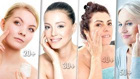 To musíte znát: Poradíme, jak pečovat o pokožku ve věku 20, 30, 40 a 50