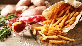 Ideální jídlo po cvičení? Hranolky! Fungují stejně jako sladké tyčinky