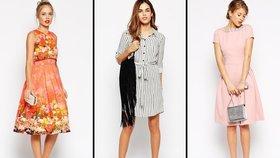 Nejkrásnější šaty z aktuálních kolekcí: Košilové a zavinovací musíte mít!