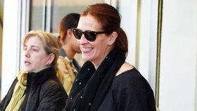 Julia Roberts bez make-upu. Podívejte se, že jí stačí jen úsměv!