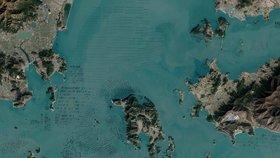 Družice NASA zachytila u Jižní Koreje podezřelé předměty. Nejde o invazi KLDR?