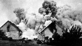 76 let od vypálení Lidic. Nacisti stříleli do mužů, ženy a děti poslali do plynu