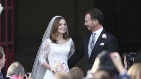 Spice Girl Geri Halliwell se vdala: Vzala si miliardáře