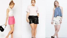Šortky a capri kalhoty: Které zamaskují bříško i silná stehna?
