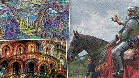 Umělá inteligence na tripu: Google ukázal, jak jeho program sní