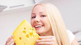 Sýry, které můžete při hubnutí, mají mít nejvýše 10 procent tuků