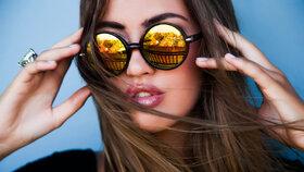 Jak si vybrat sluneční brýle? Do města postačí i ty levné