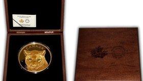 Takhle vypadá kilo zlata! Unikátní minci si koupil Čech, vyšla ho na milion a čtvrt