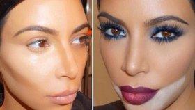 Kim Kardashian prozradila triky, které používá při líčení