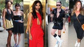 """""""Teplý"""" týden odstartovaly hvězdy v šílených outfitech: Janečková k nepoznání, Abbasová v travesti oblečku a kyprá Brzobohatá"""
