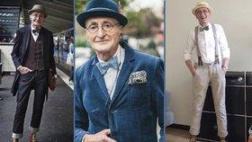 Nejstylovější děda na světě! Je mu opravdu 104 let?