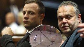 Zátah na Krejčíře a jeho přítele Pistoriuse: Bachaři jim při šťáře zabavili mobily i hard disk!