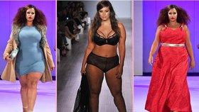 Módní revoluce: Luxusní týdny módy ovládly plus size modelky!