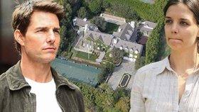 Velký výprodej Toma Cruise: Za 718 milionů prodává sídlo, které koupil s Katie