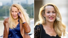Modelka Jerry Hall bez makeupu a v plavkách! A to jí táhne na 60!