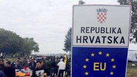 Do Chorvatska bez hraničních kontrol? Brusel je pro, Slovinci se bojí migrantů