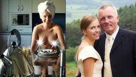 Mackova novomanželka, jak ji neznáte: Vystavila své nahé tělo