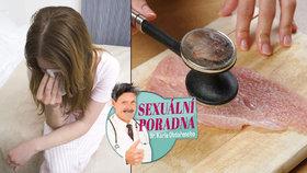 Sexuální poradna: Pomoc, mám pysky jak dva naklepané řízky