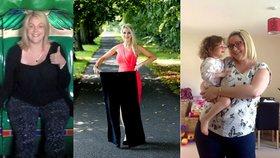 Žena přibrala, když jí vážně onemocněla dcera. 30 kilo pak shodila za rok