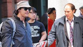 Břicho a pleš: Je tohle opravdu Matthew McConaughey?