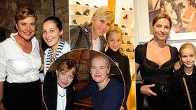 Dcery a vnučky na scénu: Neumannová, Retková, Zedníčková a Šulcová ukázaly své lásky!