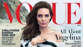 Angelina Jolie na titulce Vogue. Nemůže se dočkat své padesátky!