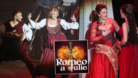 Vondráčková, Basiková a Čvančarová přicházejí o kšefty: Muzikál Romeo a Julie krátce po premiéře ruší představení!
