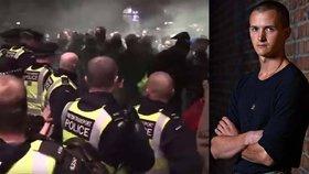 Syn muzikanta Gilmoura z Pink Floyd: Jen co vylezl z vězení, dostal se do potyčky s policií