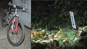 Cyklista Roman zbil policistu, na útěku zahazoval injekční stříkačky. V minulosti zmrzačil hasiče