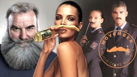 Pánové, začněte s pěstováním kníru. Movember je tu, zapojí se i policisté