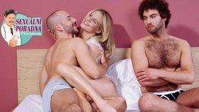 Sexuální poradna: Manžel mě chce půjčit do postele kamarádovi, miluje mě vůbec?