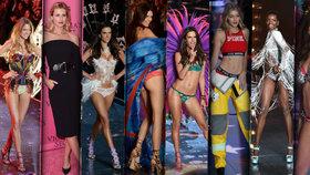 Ostře sledovaná přehlídka Victoria's Secret: Předvedly se dokonalé stálice, ale i noví andílci