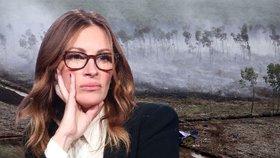 """""""Já lidi nepotřebuju, oni potřebují mě."""" Julia Roberts promlouvá hlasem přírody"""