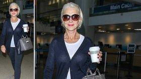 Styl podle celebrit: Nestárnoucí Helen Mirren si potrpí na klasiku!