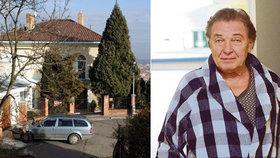 Karel Gott po propuštění: Je doma, ale neléčí se na Bertramce?!
