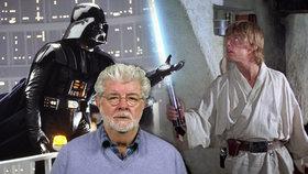 Lucas skoncoval s Hvězdnými válkami. A jeho oblíbenou postavu neuhodnete