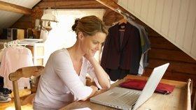 Jak pracovat z pohodlí domova
