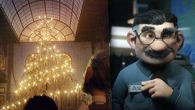 Vánoční reklama, která vás dožene k slzám: Srdceryvný snímek si vystačí i beze slov