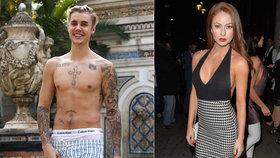 Měla jsem trojku s Justinem Bieberem, chlubí se sexy modelka