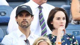 Hvězda seriálu Panství Downton na dně: Snoubence (†34) jí zabila rakovina