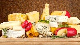 Syrečky, madeland nebo eidam? Po kterých sýrech nepřiberete?