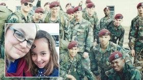Trumpův útok vyděsil malou holčičku: Ochráníme tě, vzkazují američtí vojáci