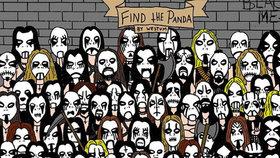 Po pandě mezi sněhuláky je tu další výzva! Kdopak najde ztracené zvířátko mezi metalisty?